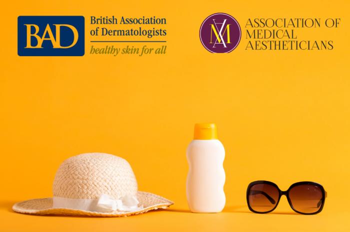 Британската асоциация на дерматолозите със съвети за защита от слънцето по време на COVID-19